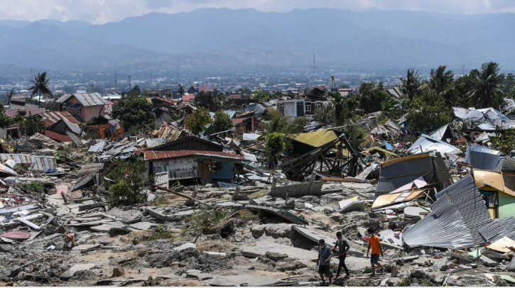 An Earthquake Measuring 6.0 On The Richter Scale Struck Indonesia, People Rushed Out Of Their Homes