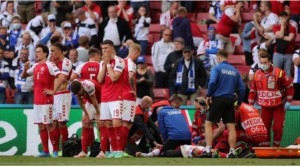 Denmark's Eriksen Rushed To Hospital After Collapsing In Euro 2020 Match