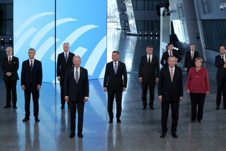 NATO takes tough line on China at first summit with Biden