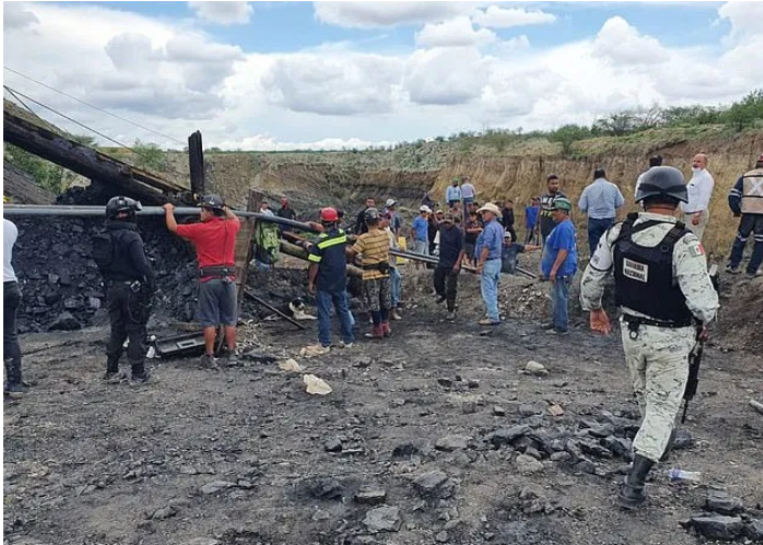 Accident In A Coal Mine In Mexico, 7 Workers Trapped!