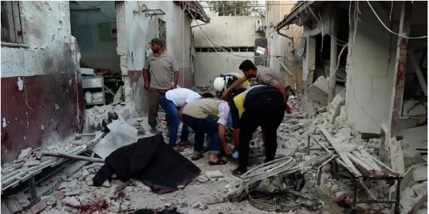 Attack In Hospital: Sudden Missile Attack On Syrian Hospital, 13 Killed