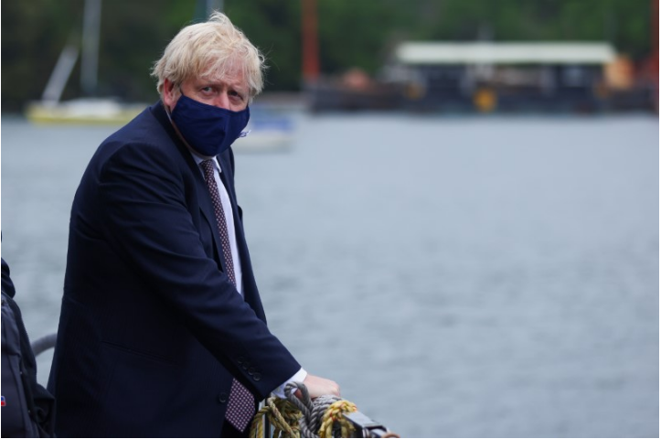 UK PM Johnson Plans To Delay Lockdown Lifting Until July 19