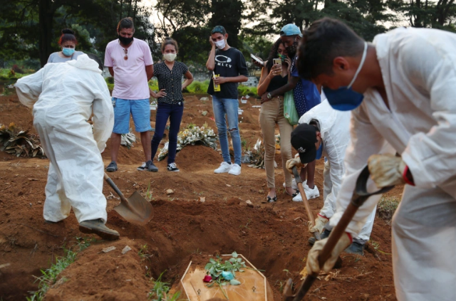 Corona Cases And Deaths Are Increasing In Brazil, A New Wave Of Epidemic Has Arrived Here