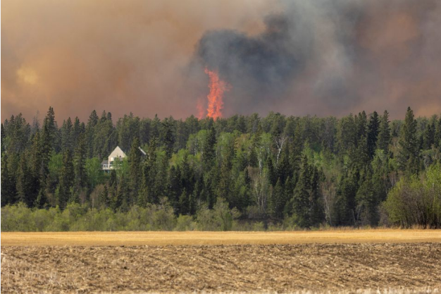 Canada Orders Rail Restrictions To Reduce Wildfire Risk