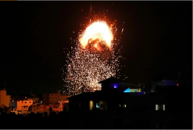 Israeli Air Raids Target Gaza For Third Time Since May Ceasefire