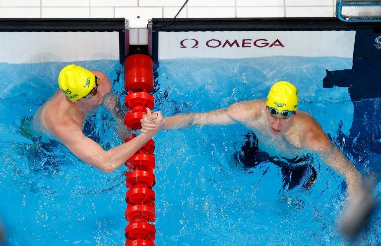 Swimming-First medals on the line in Tokyo pool