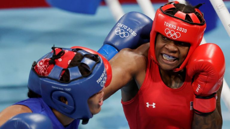 Boxing-After Narrow Escape From Home Fire, American Jones Eyes Gold