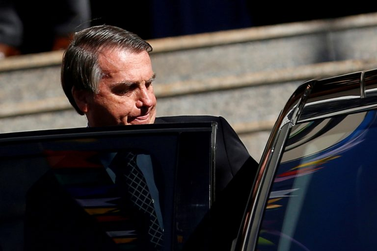 Brazil's Bolsonaro, stabbed in 2018, hospitalized with chronic hiccups