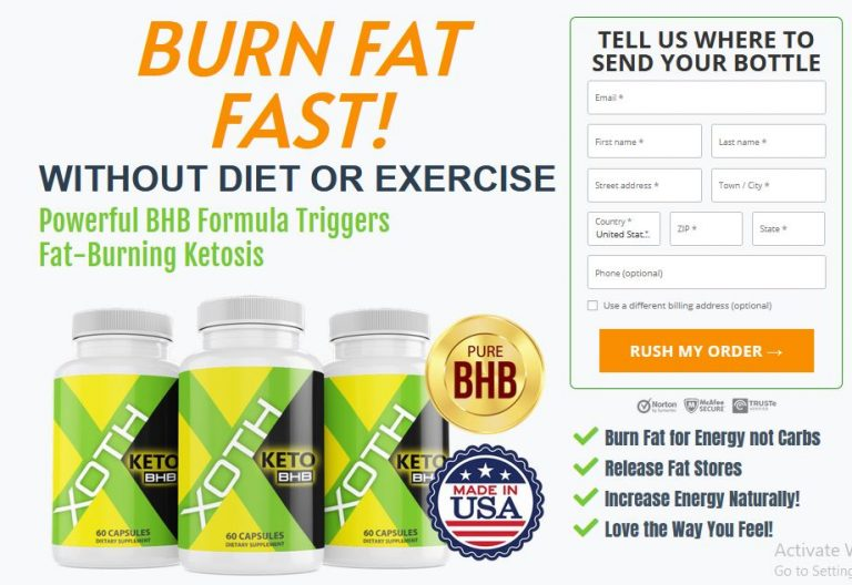 Xoth Keto BHB Reviews – Get Into Ketosis in 24 hours With XothKeto BHB Pills
