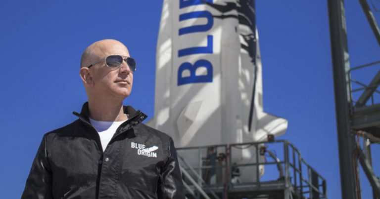 Blue Origin flight to rocket youngest person ever into space