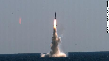 North and South Korea both test missiles as tensions rise