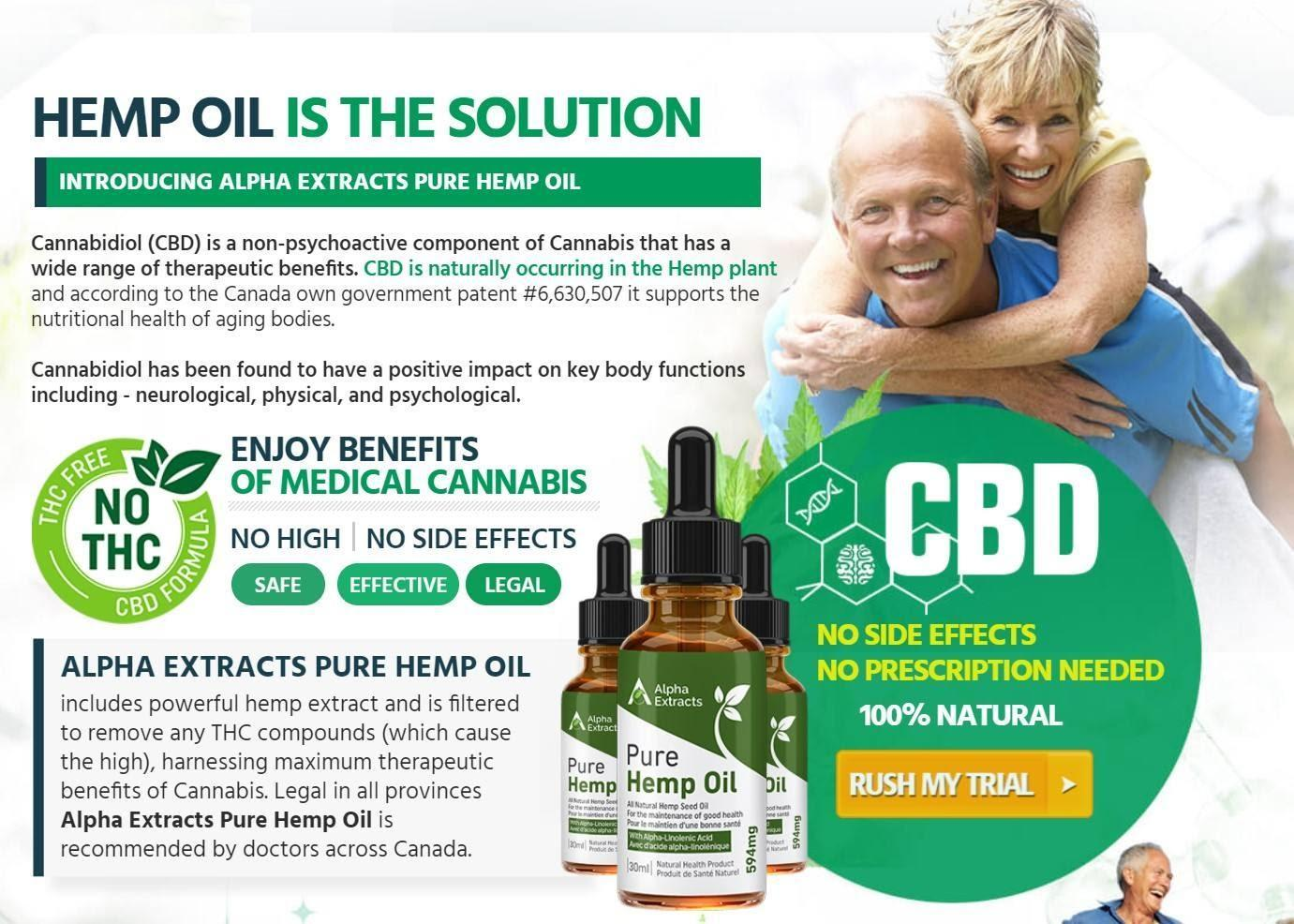 Alpha Extracts Hemp Oil : Reviews, Ingredients, Side Effects, Benefits,  Working, Price!! | homify