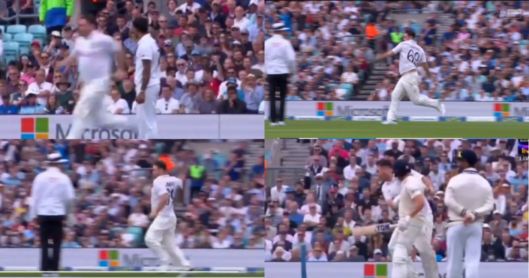 Jarvo 69 Enters The Field And Bumps Into Jonny Bairstow At The Oval, Gets Kicked Out By Security