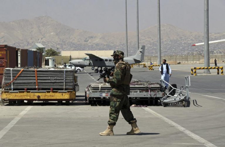 Dozens Of Westerners Board Commercial Flight From Kabul