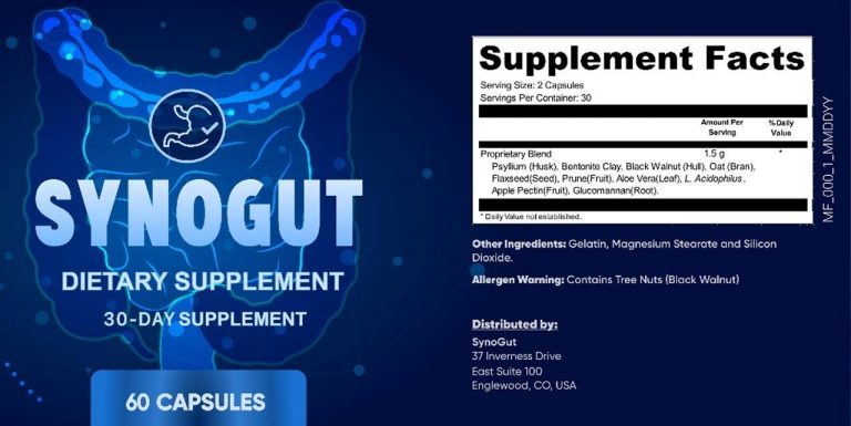 SynoGut Reviews :- Digestive Health Supplement, Benefits and Price!