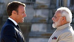France to work with India to promote 'truly multilateral' order