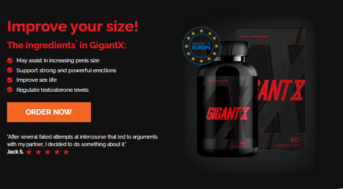 GigantX Reviews :- Support Strong And Powerful Erections