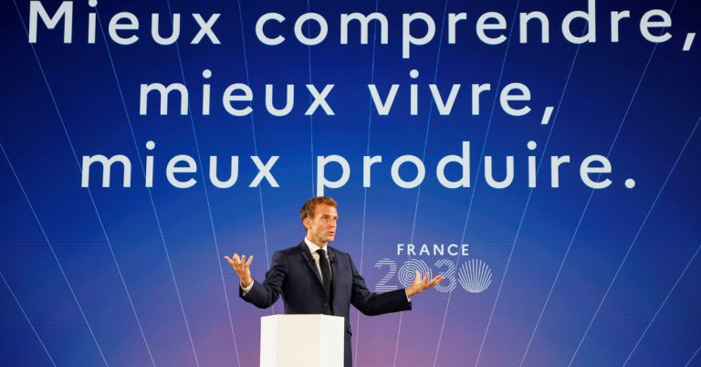 Macron unveils 30-bln euro plan for innovation and industrial revival